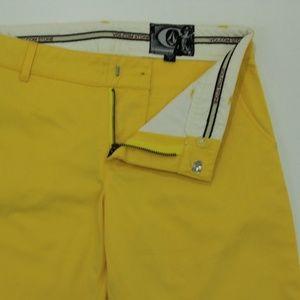 Volcom Stone Cropped Capri Women's Yellow Jean 7